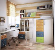 Small White Desks For Bedrooms Classic White Wooden Table With Drawers And Shelf Plus Pink Shade