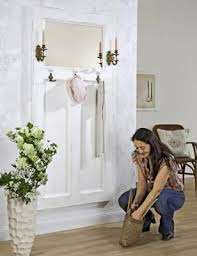 Make Coat Rack Coat rack out of an old door Clever way to expand a small space 90