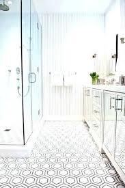 bathroom floor tile hexagon. Hex Floor Tile Hexagon Stylist Bathroom Modern Hexagonal .
