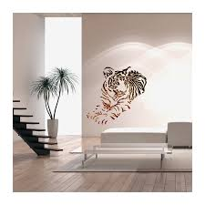 wall stencils for diy decor rooms kids template tiger animal large  on wall art stencils letters with wall decor templates gecce tackletarts