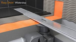 Linear <b>shower drain</b> installation – Easy Drain Waterstop (English ...