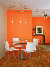 Orange Color Combinations For Living Room Dining Room House Color Combination Dining Area White House
