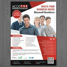 cleaning service advisement flyers elegant personable accounting flyer design for a company by