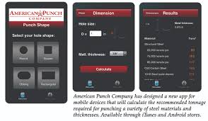 Punch Tonnage Chart Fabricating Metalworking