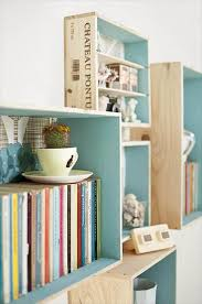 wood crate furniture diy. Crate Bookshelf Wood Furniture Diy