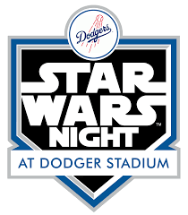 Star Wars Night LA Dodgers 2017 Logo Badge | Milners Blog