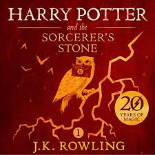 harry potter and the sorcerer s stone book 1 audiobook cover art
