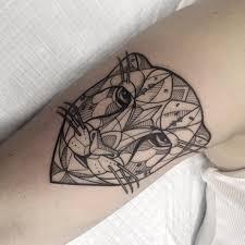 татуировка гепарда на бицепсе девушки фото рисунки эскизы