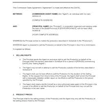 Sales Agent Contract Template Llc Agreement Template Sales Agency Sample Beautiful 3