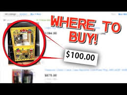 Vending Machines For Sale Craigslist Impressive Where To Buy A CLAW MACHINE For CHEAP ONLY 4848 YouTube