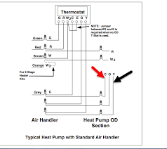 low voltage wiring diagram for heat pump annavernon low voltage control wires from thermostat outdoor unit i am having an issue my heat pump initially thought