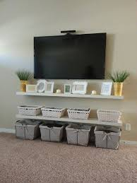 floating shelves under wall mounted tv. Chic And Modern TV Wall Mount Ideas For Living Room Shelves Under Tv Floating Shelf In Mounted
