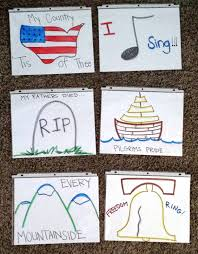 Primary Notes 29 Flip Chart For My Country Tis Of Thee