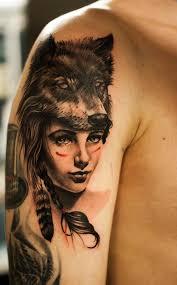 indian shaman tattoo
