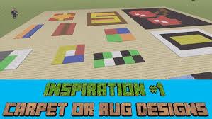 Cool Minecraft Carpet Designs wwwstkittsvillacom