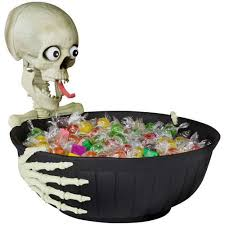 halloween candy bowl hand. Plain Candy Amazoncom  Animated Halloween Candy Bowl With Comical Speaking Skeleton  Head Dishes Dishes Throughout Hand A