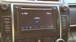 toyota camry xle entune radio problem (update may )  youtube