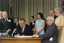 lbjs office president. President Johnson Signs The Medicare Bill In Presence Of Harry Truman, Who Had Tried To Get Medical Insurance For Elderly When He Was . Lbjs Office
