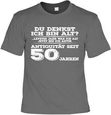 50 Geburtstag T Shirt Geburtstagsshirt Sprüche 50 Jahre Du