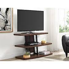 Dorel Home Furnishings Castling Espresso Floating Shelves TV Stand