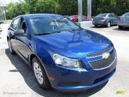 Blue Topaz Metallic 2012 Chevrolet Cruze LS Exterior Photo ...