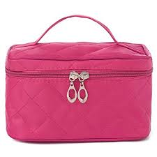 uberlyfe cosmetic bag travel organizer with cosmetic pouch pink