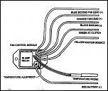 help recreating fan wiring diagram using derale controller gm click image for larger version derale 16759 adjustable fan controller old instructions