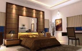 wooden bed back design. Brilliant Wooden View Of Bed Room Interior Wooden With Back Rest Having Comfortable  Gadi Work Free Standing Side Tables Beside Drawers And Table Lamps  For Wooden Bed Back Design A