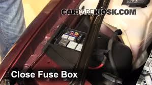 replace a fuse 1992 1998 buick skylark 1994 buick skylark 1994 Buick Skylark Fuse Box Diagram 6 replace cover secure the cover and test component 1994 buick skylark fuse box diagram