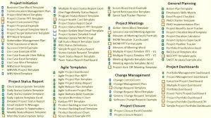 Project Plan Report Template Jimbutt Info