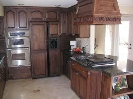 cherry kitchen cabinets black granite. M : Brown Cherry Wood Cabinets White Stained Wooden Island Black Granite Top Countertop Dark Kitchen (625 X 469)