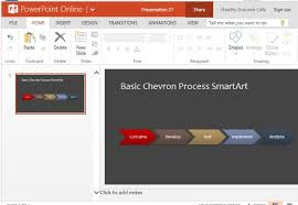 word powerpoint online smartart process flow diagram template for powerpoint online