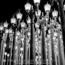 Urban Lights Denver Coupon Black White Photography Print Of The Urban Lights At Lacma