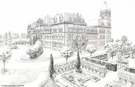 cool architecture drawing. Brilliant Architecture Drawn Building Cool Inside Cool Architecture Drawing