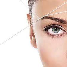 eyebrow waxing. threading waxing and other salon services eyebrow r