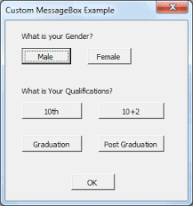 Vbscript Msgbox Chart Numbers Vba Msgbox Excel Examples 100 Message Box Macros