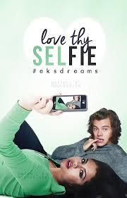 love thy selfie book cover by moonxriver