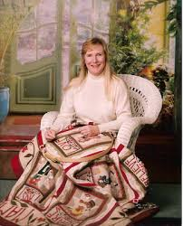 Sue Garman - The Halo Medallion Quilt Designer - TQS BOM 2017 ... & Sadly, Sue Garman passed away this January (2017). We are proud that she  shared her quilting gifts with TQS throughout the years, including our 2017  Block ... Adamdwight.com