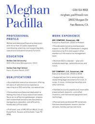 Blue Black Minimalist Corporate Resume Templates By Canva Enchanting Resume Def
