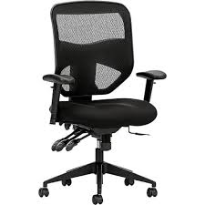 office chair controls. HON Prominent Mesh High-Back Task Chair, Asynchronous Control, Seat Glide, 2 Office Chair Controls