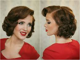 Pin Ups Hair Style pin up hairstyles easy do hair pinterest 1940s hairstyles 3909 by wearticles.com