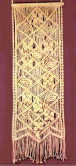Macrame Wall Hanging Small Macrame Cotton Wall Hanging Modern Macrame Wall Tapestry