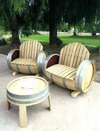 wooden barrel table awesome way to reuse barrels end furniture uk patio bistro set outdoor wine barrel tables wooden