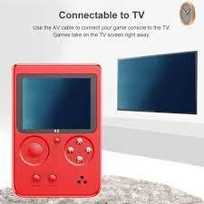Máy Chơi Game Cổ Điển 250 Thời Trang, Máy Chơi Game Cầm Tay Màn Hình LCD  2.8 Inch Di Động