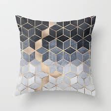 soft throw pillows. Fine Throw Soft Blue Gradient Cubes Throw Pillow Intended Pillows A