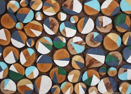 looking for creative affordable wall art ideas see how easy it is to reimagine on birch wood slice wall art with how to make wood slice art from branches mountainmodernlife