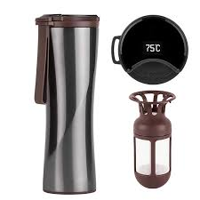 KKF <b>Vacuum Bottle</b> 24h Insulation Cup Thermoses Stainless Steel ...