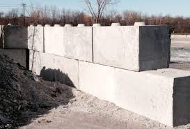 nulife glass dunkirk facility recycled panel glass retaining wall blocks