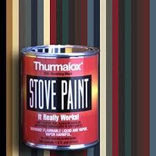 stove paint. stove paint