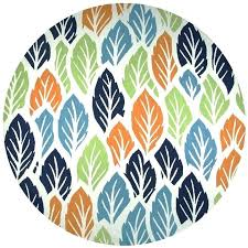 teal round rug hill wool round area rug 8 feet ivory white multi color botanical teal